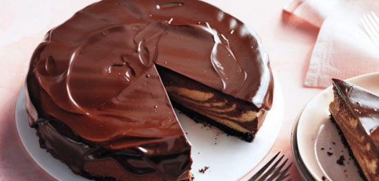 طرز تهیه چیز کیک کوکی شکلاتی