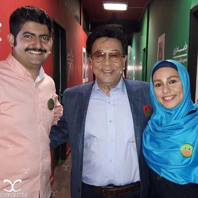 عکس های خانوادگی حسین عرفانی با همسر و دخترش مهسا