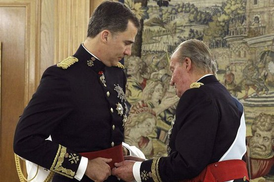 فلیپه رسما پادشاه اسپانیا شد