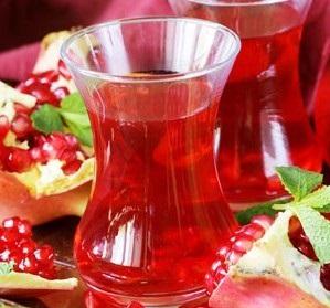 طرزتهیه یک نوشیدنی متفاوت، چای پوست انار لذیذ و پرخاصیت عکس