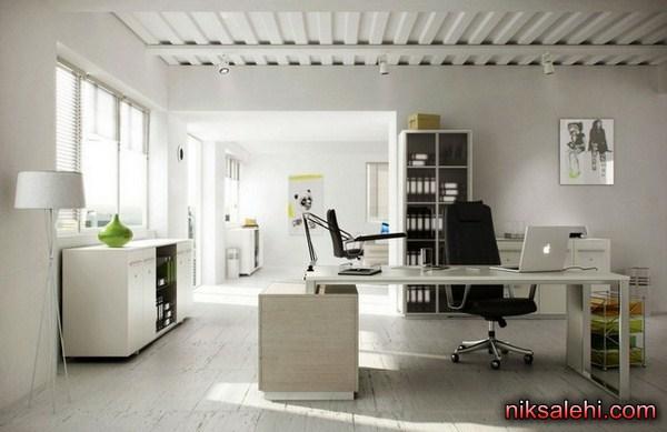 لوکس ترین دکوراسیون دفتر کار خانگی  تصاویر