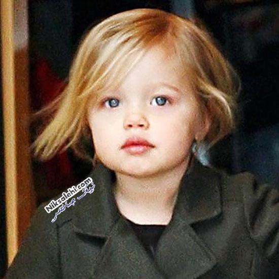 تغییرشکل شایلو اولین دختر آنجلینا جولی و بردپیت در طی سال ها