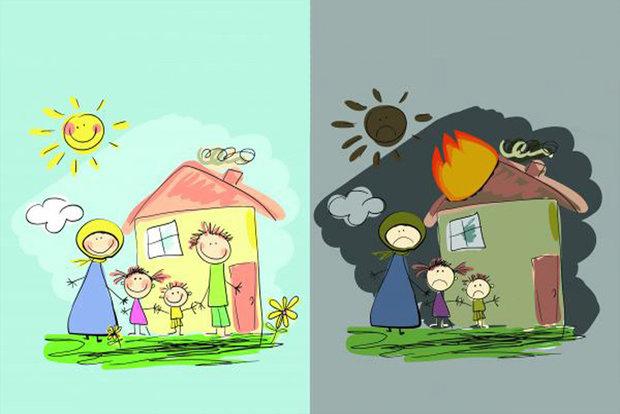 مجموعه کاریکاتورهای کودکان جنگ