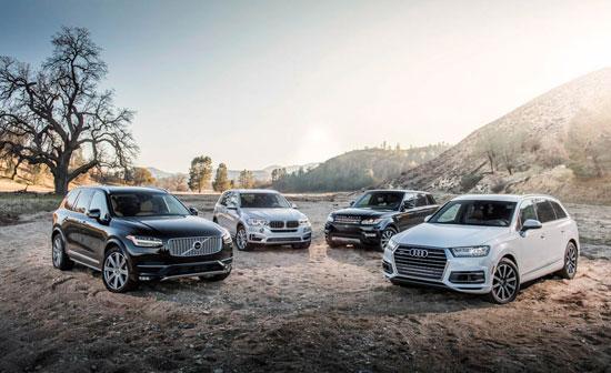 محبوب ترین خودرو های شاسی بلند2016 تصاویر
