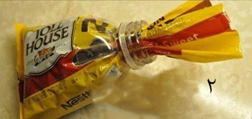 برای پاکت های پلاستیکی در درست کنیم  تصاویر