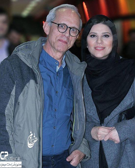 سحر دولتشاهی و هانیه توسلی در اکران فیلم شکاف