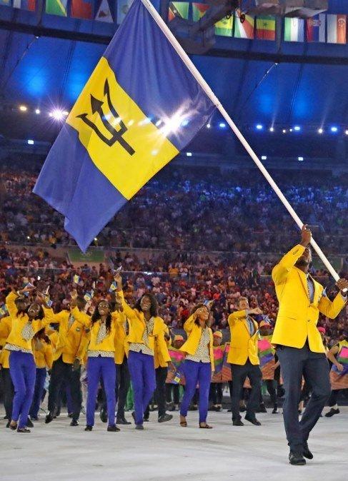 لباس باربادوس در المپیک ریو 2016