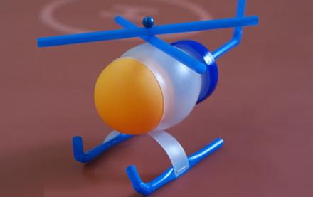 ساخت کاردستی بالگرد با وسایل دور ریختنی تصاویر
