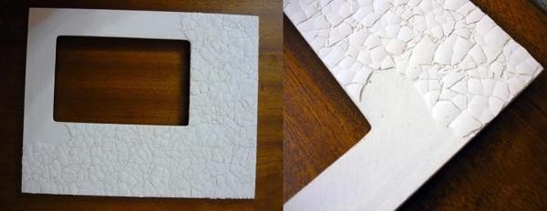 ساخت کاردستی قاب عکس سرامیکی  تصاویر
