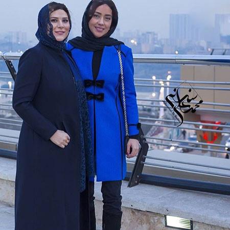 تیپ جدید سحر دولتشاهی در جشنواره سی و چهارم تصاویر