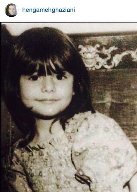 کودکی های هنگامه قاضیانی و نگار عابدی را ببنید! تصاویر