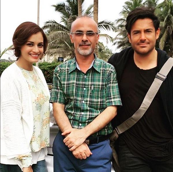 عکس های جدید محمدرضا گلزار و دیا میرزا بازیگر هندی سریال سلام بمبی