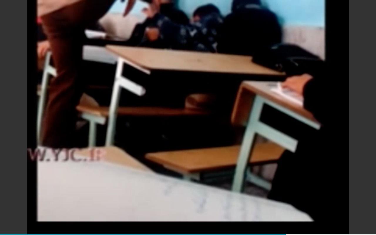 تنبیه وحشیانه دانش آموز الیگودرزی توسط معلم