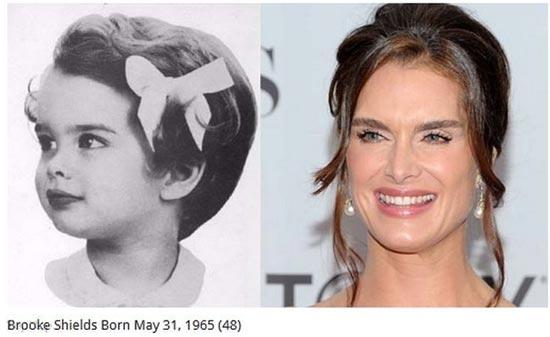 ستارگان مشهور هالیوود در کودکی هم جذلب بودند؟
