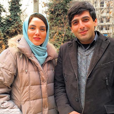 عکسهایی از مرجان شیرمحمدی و همسرش