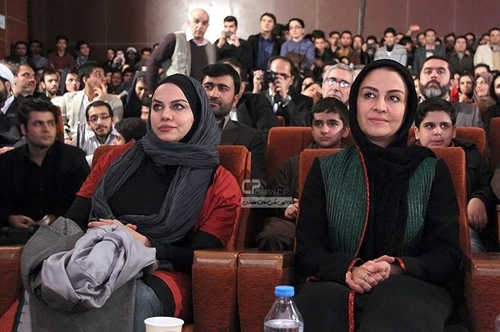 مریلا زارعی ر در اختتامیه جشنواره فیلم فجر در مشهد