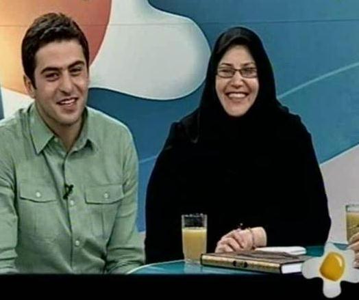 سید علی ضیا: برای مادرم دعا کنید! تصاویر