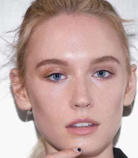 مدل آرایش مو وصورت در سال جدید میلادی تصاویر