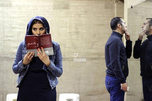 سحر دولتشاهی و باران کوثری در تمرین تئاتر
