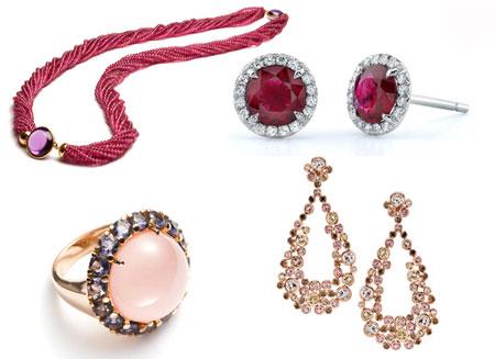 قشنگ ترین جواهرات به رنگ سال  تصاویر