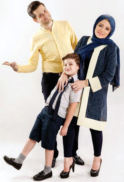 پویا امینی: زود ازدواج کردم و راضیام! تصاویر همسر و پسرش
