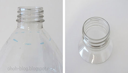 آموزش ساخت لوستر زیبا فقط با بطری پلاستیکی / بسیار دیدنی تصاویر