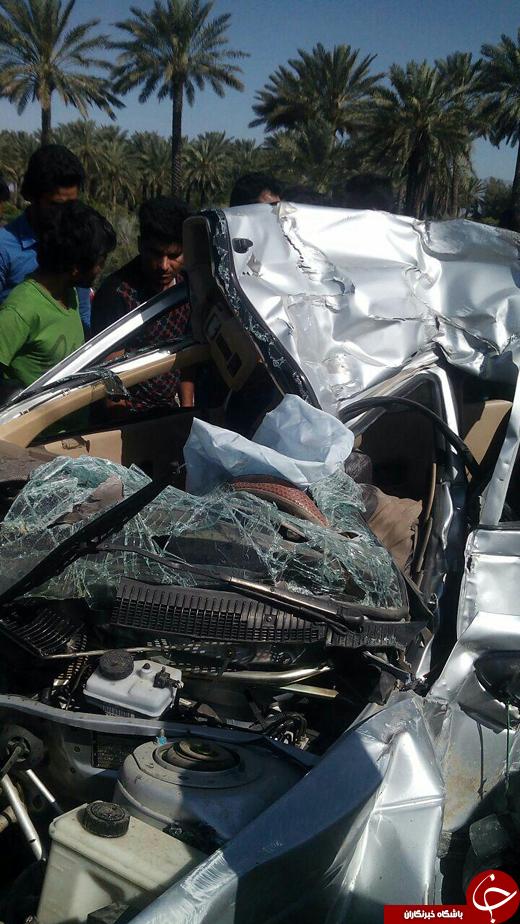 تصادف شدید 405 دو کشته بر جای گذاشت