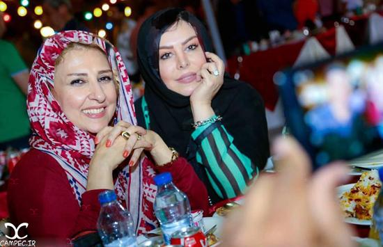 حضور بازیگران مشهور در مراسم افطاری سیمای مهر