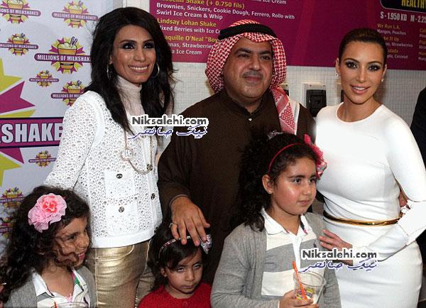 حضور جنجالی کیم کارداشیان در بحرین