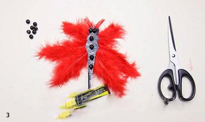 آموزش ساخت کاردستی آویز پروانه با مقوا