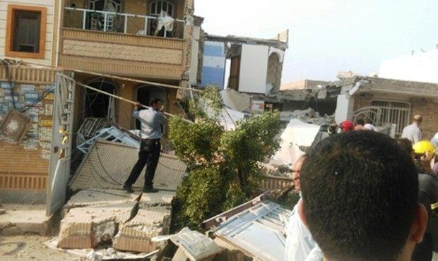 انفجار هولناک گاز شهری در یک مجتمع مسکونی در اهواز با ۶ کشته
