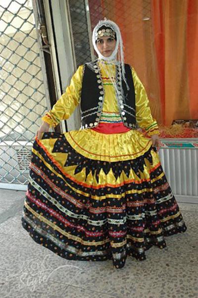 تنوع پوشش سنتی زنان ایرانی