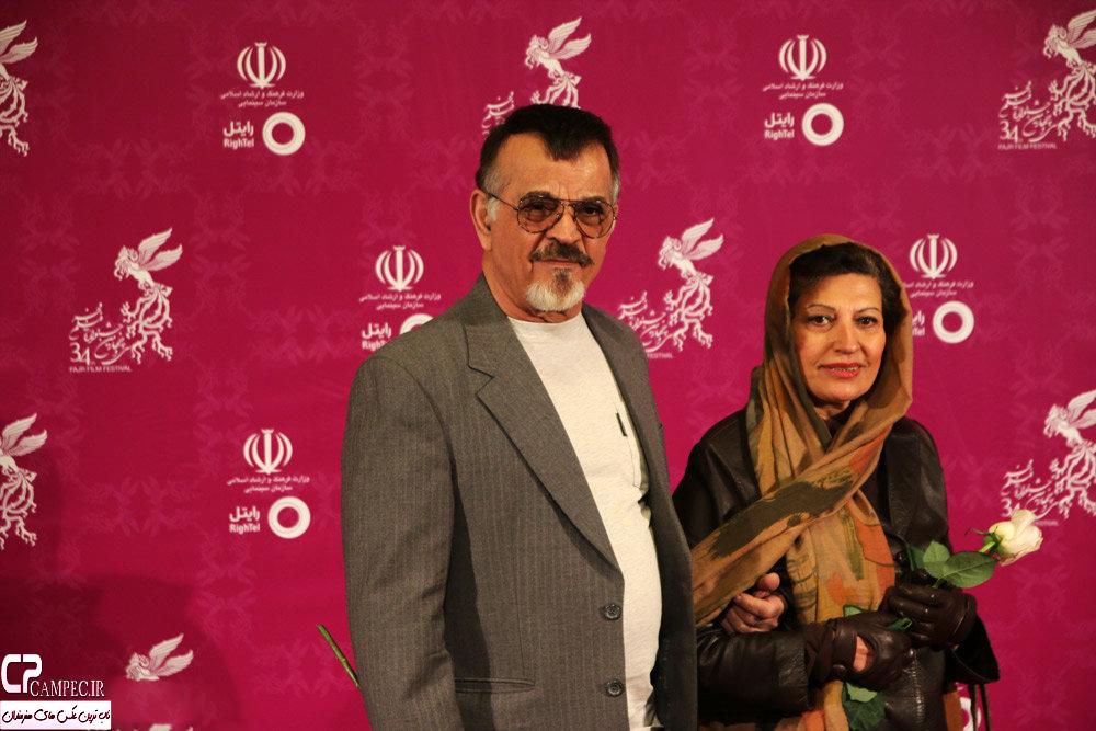 کتایون ریاحی و مهدی فخیم زاده در کاخ جشنواره تصاویر