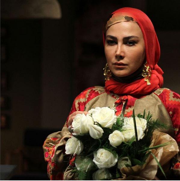 عکس های جدید و نوشته های زیبای آنا نعمتی برای روزهای پایانی سال