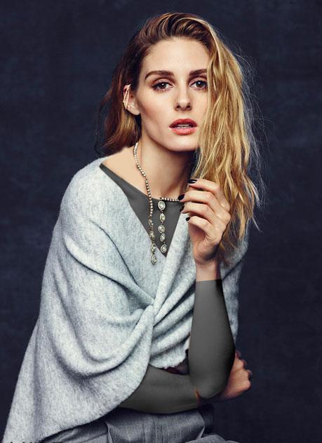 انتخاب لباس بهاره متفاوت وشیک به سبک اولیویا پالرمو مدل محبوب اروپا