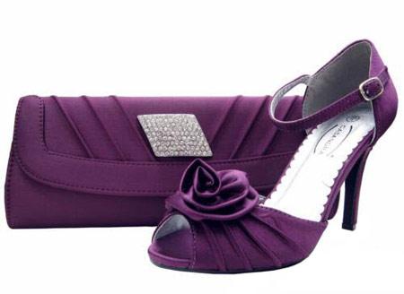 شیک ترین مدلهای کیف مجلسی زنانه رنگ بنفش