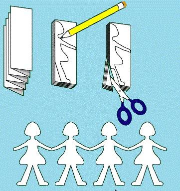 آموزش ساخت کاردستی آدمک های جالب با کاغذ