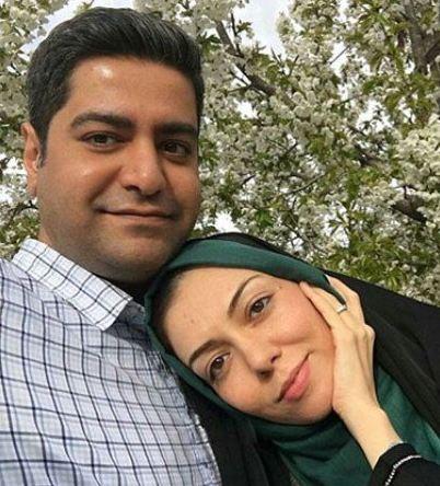 تصویری عاشقانه از آزاده نامداری و همسرش عکس