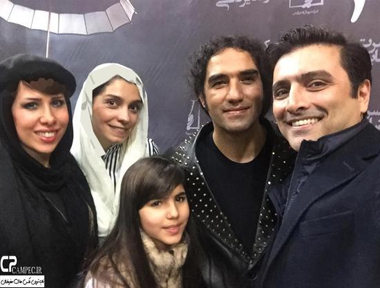 عکس های بازیگران در کنسرت زمستانی رضا یزدانی