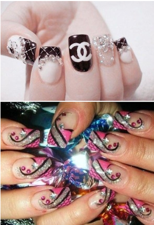 گالری تصاویر طراحی ناخن های شگفت انگیز و جدید برای خانم های جوان