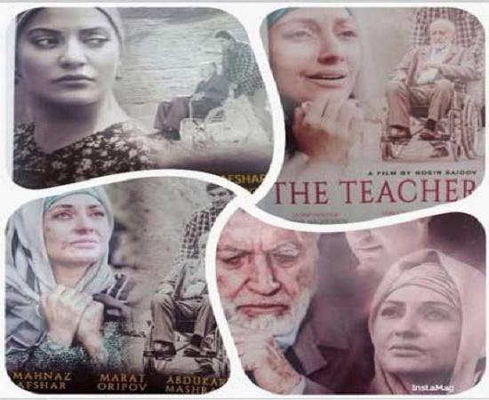 مهناز افشار در فیلم عاشقانه تاجیکستانی عکس