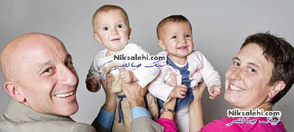 مهارت بسیار عجیب دو نوزاد دوقلو