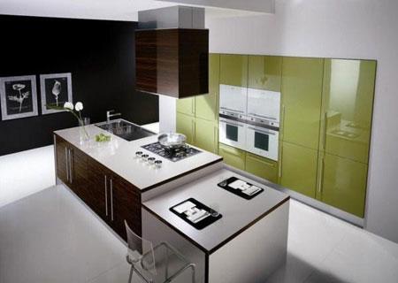 دکوراسیون منزل با رنگ سبز  تصاویر
