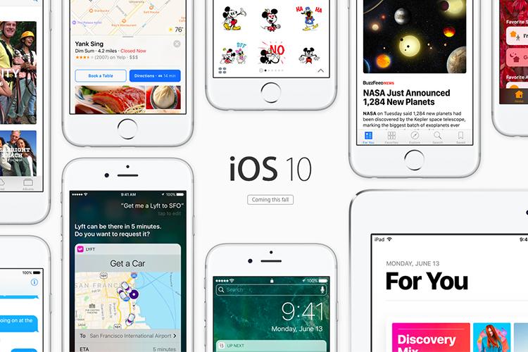 همه چیز درباره نسخه ios10