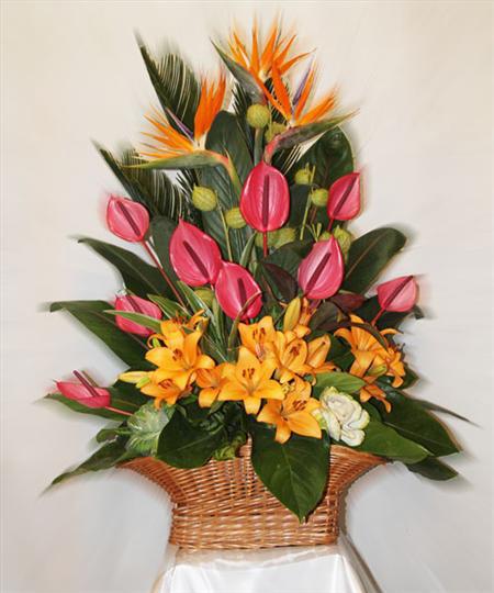 انواع سبد گل