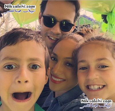 جنیفرلوپز و همسرسابقش در جشن تولد فرزندانشان