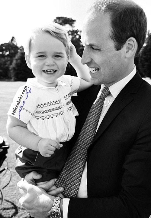 عکس های خانوادگی رسمی از مراسم غسل تعمید دختر کیت میدلتون