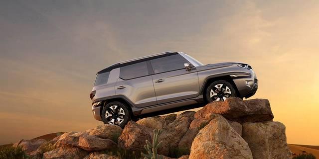 رونمایی از مدل مفهومی سنگ یانگ XAV-Adventure  تصاویر