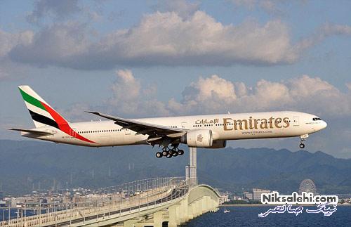 ستاره مشهور چهره تبلیغاتی هواپیمایی دبی شد