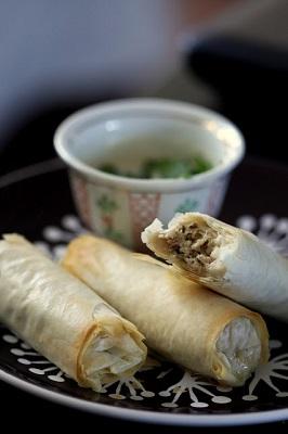 مخلوط مرغ عربی در خمیر یوفکا, بسیار آسان و لذیذ